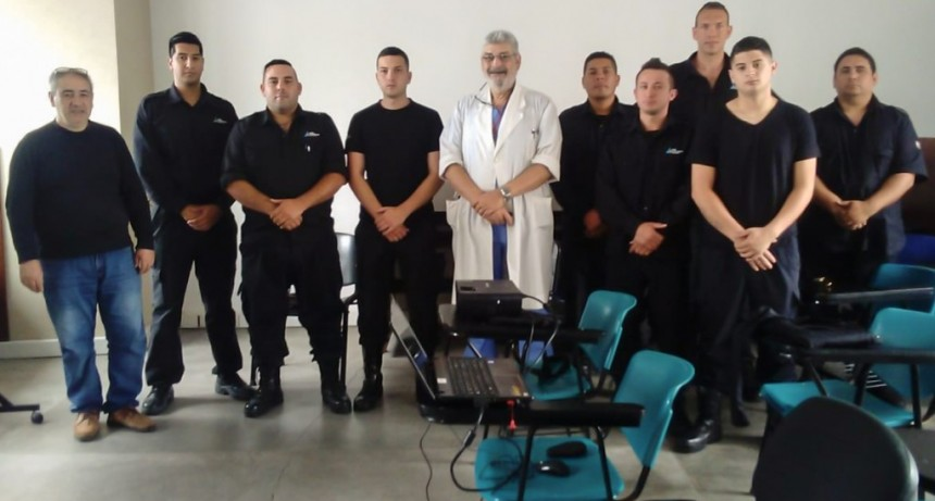 El nuevo personal de Patrullas y Defensa Civil del Municipio realizó un curso de RCP