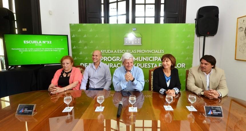 Andreotti presentó el plan de obras del Programa de Ayuda a Escuelas Provinciales 2019