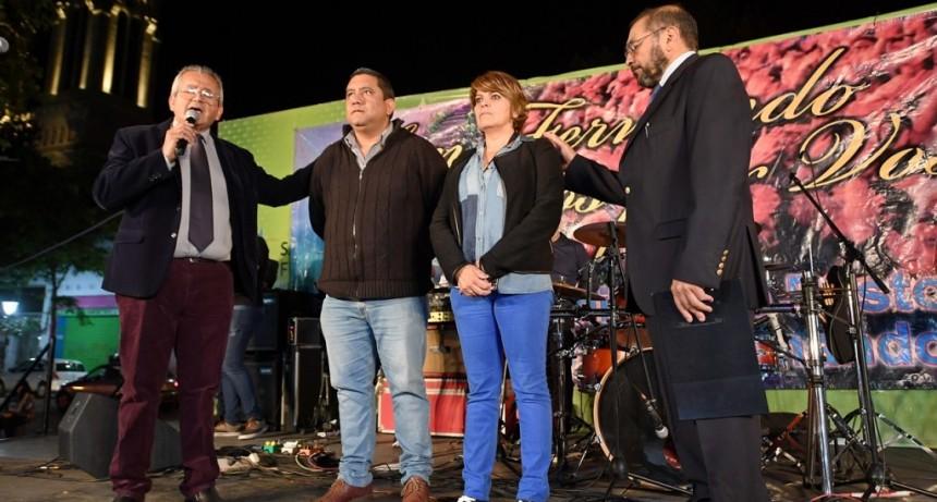 """""""San Fernando, Oramos por vos"""" se celebró en la Plaza Mitre"""