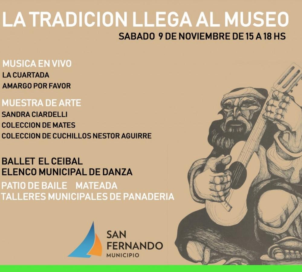 """San Fernando celebrará el Día de la Tradición y presentará el libro """"Magia. Algunos Secretos"""""""