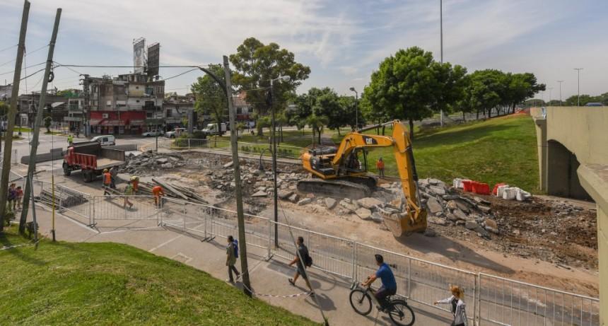 Por obra de Autopistas del Sol en Acceso Norte y Avellaneda, el Municipio de San Fernando reorienta el tránsito