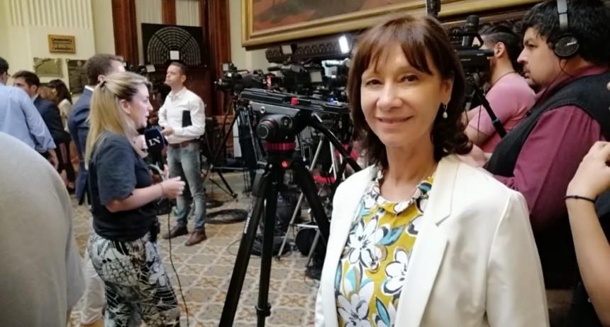 """ALICIA APARICIO: """"VAMOS A TRABAJAR EN PROYECTOS  DE LEY QUE CONTRIBUYAN A PONER A LA ARGENTINA  DE PIE"""""""