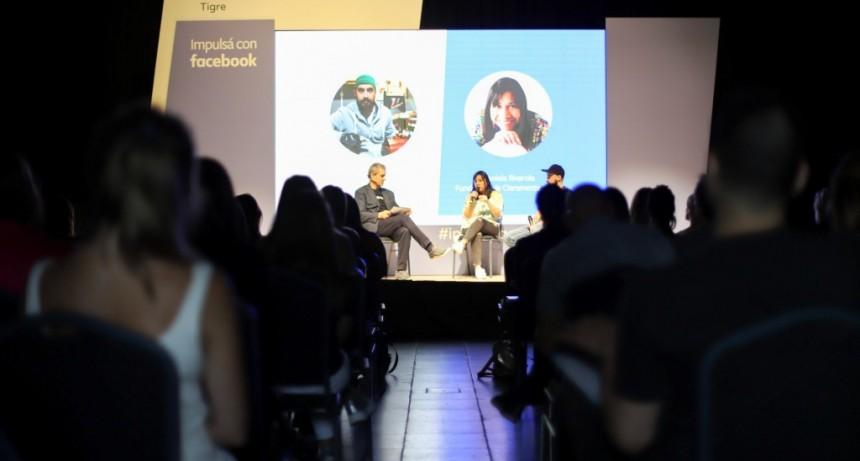Impulsá con Facebook visitó Tigre para capacitar sobre herramientas digitales