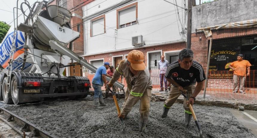 El Municipio de San Fernando sigue realizando obras hidráulicas y viales