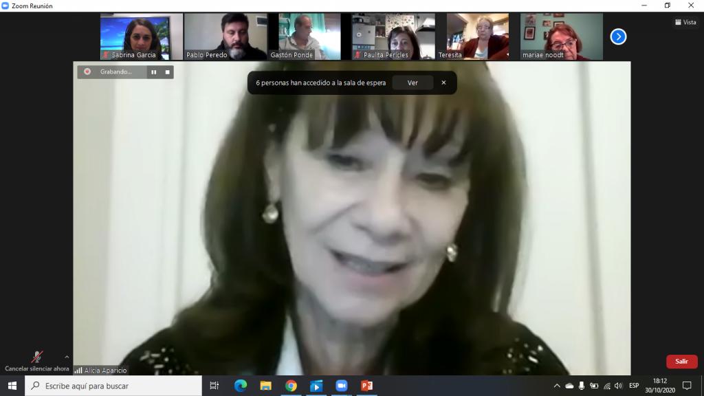 La Diputada Alicia Aparicio presentó los lineamientos del proyecto de aporte de las grandes fortunas