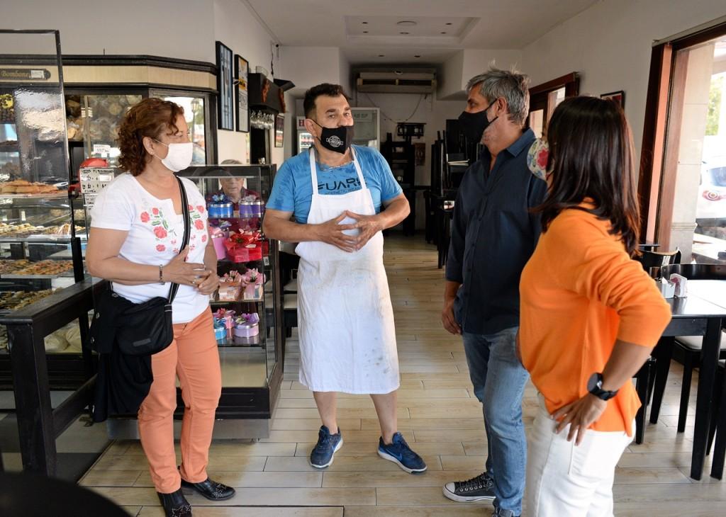 Concejales del FR TODOS de Tigre visitaron a comerciantes de General Pacheco