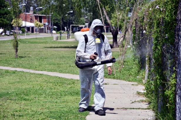 Programa de Prevención del Dengue, en Villa Jardín