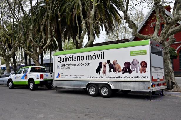 Zoonosis de San Fernando duplicó su capacidad de castraciones y triplicó las vacunaciones en el 2014