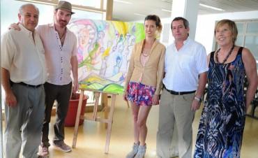 Nuevas obras de arte para el Hospital Materno Infantil de Tigre
