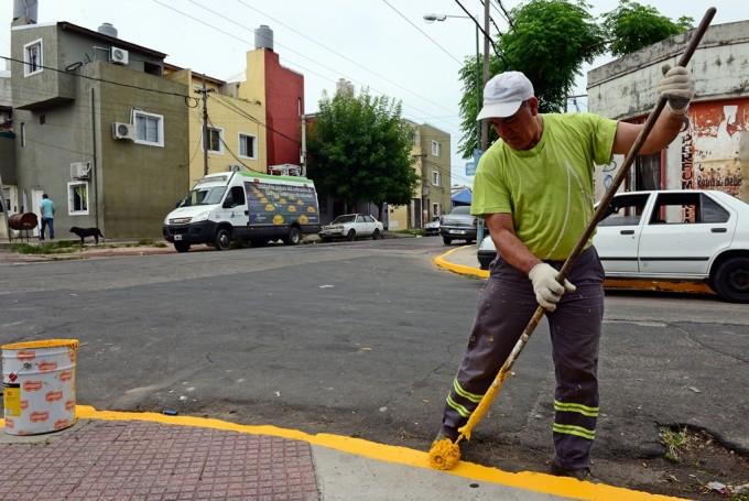 San Fernando realizó un gran operativo de arreglos, limpieza, embellecimiento y tránsito en el barrio Crisol