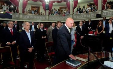 Claudio Alfonsín asumió como secretario Administrativo en el Senado Provincial