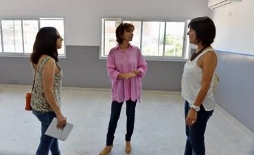 San Fernando avanza en la construcción de dos nuevas aulas en la Secundaria 14