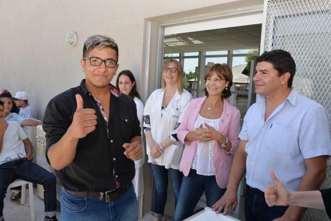 """El programa """"San Fernando de la Buena Vista"""" llegó a los chicos de Casa de Día"""
