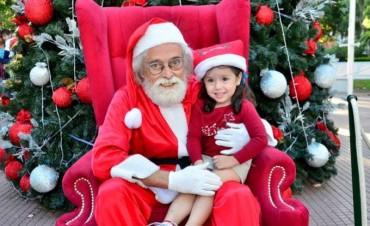 Papá Noel llega a San Fernando antes de la Navidad