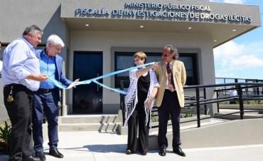 Andreotti inauguró la Fiscalía de Investigaciones de Drogas Ilícitas