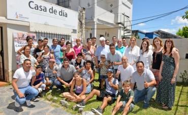 Andreotti compartió un almuerzo de fin de año con los chicos de 'Casa de Día'