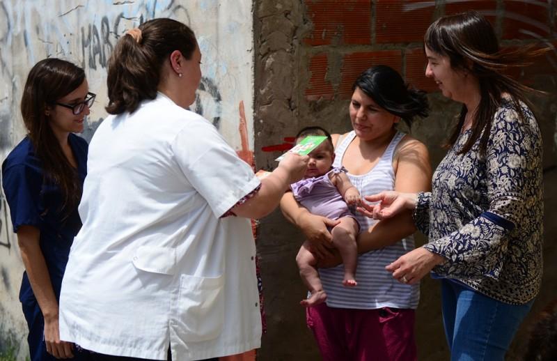 San Fernando implementó seguimientos de embarazos y recién nacidos