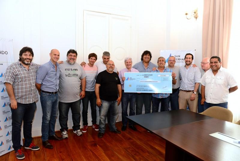 Andreotti entregó una nueva ayuda económica a los Ex Combatientes de Malvinas