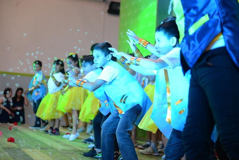 Los CEIM de San Fernando cerraron el año con una fiesta colorida