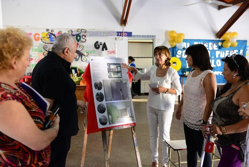 El Municipio de San Fernando realiza refacciones en la Escuela Nº 3