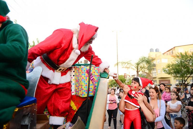San Fernando tuvo un inolvidable cierre de los festejos navideños con miles de vecinos