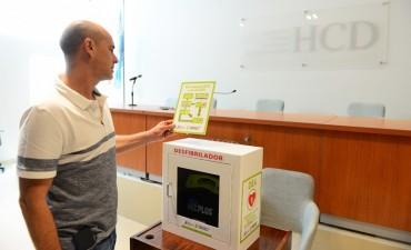 El HCD de San Fernando fue equipado con un desfibrilador y un kit de emergencias