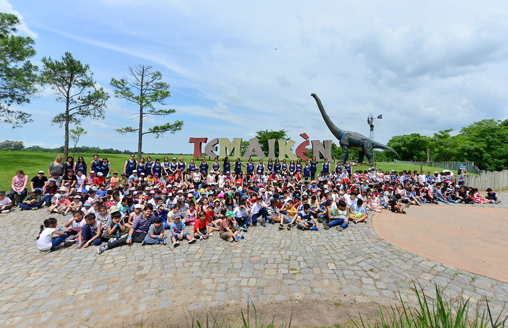 Los chicos de los Centros Educativos de San Fernando visitaron Temaikén