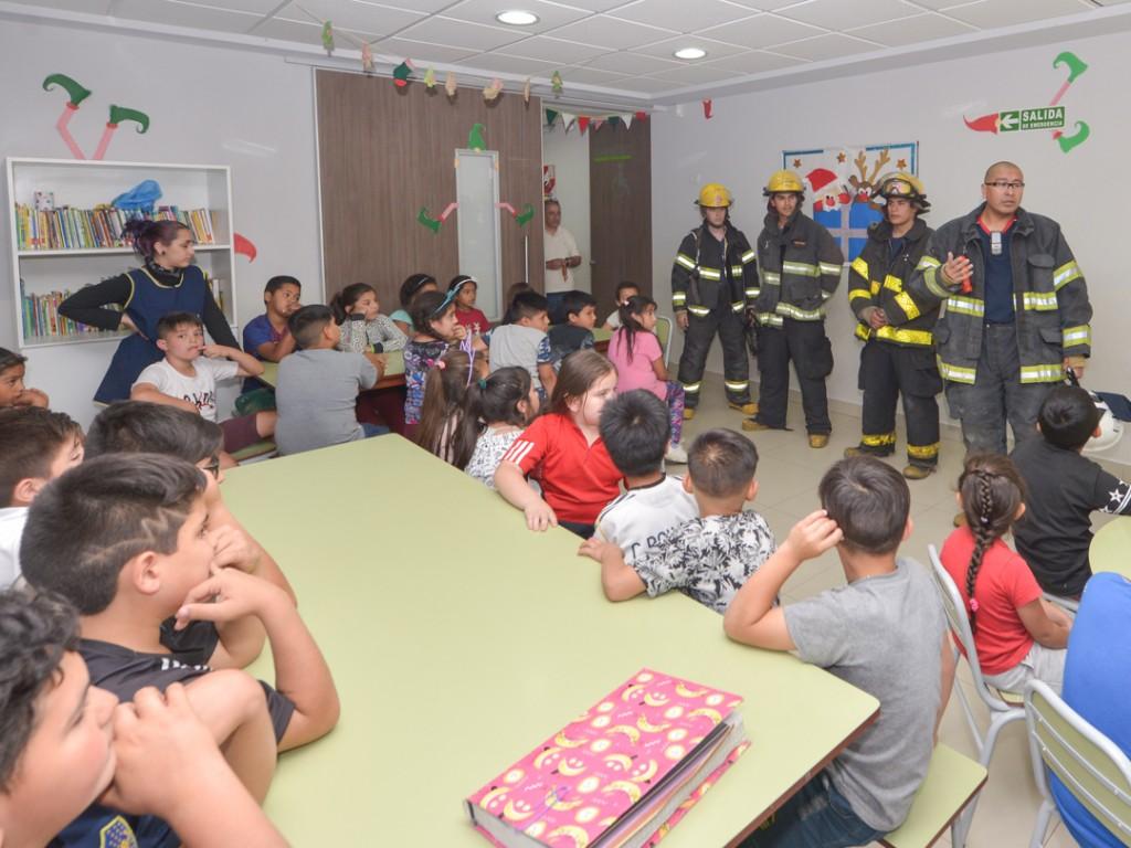 San Fernando realiza con éxito simulacros de incendio en sus dependencias educativas municipales