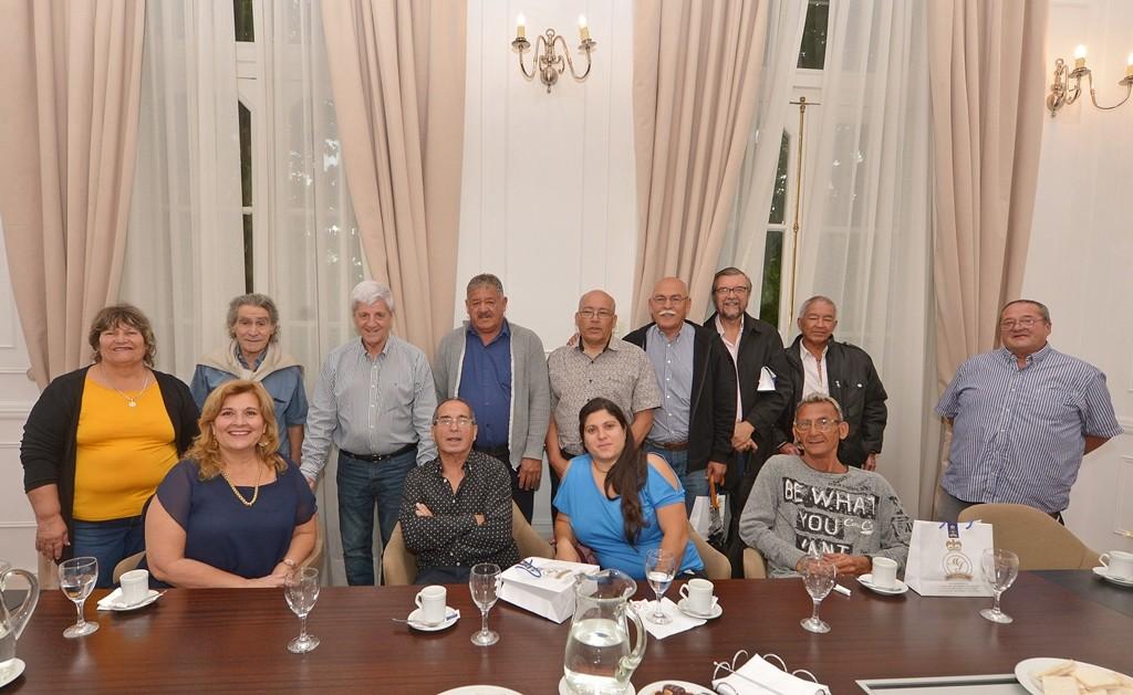 Andreotti reconoció a empleados municipales que se jubilaron