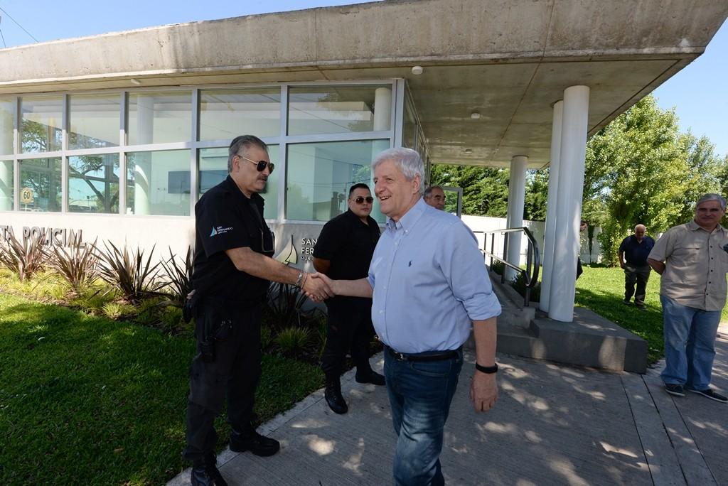 Andreotti saludó a los trabajadores municipales por las fiestas