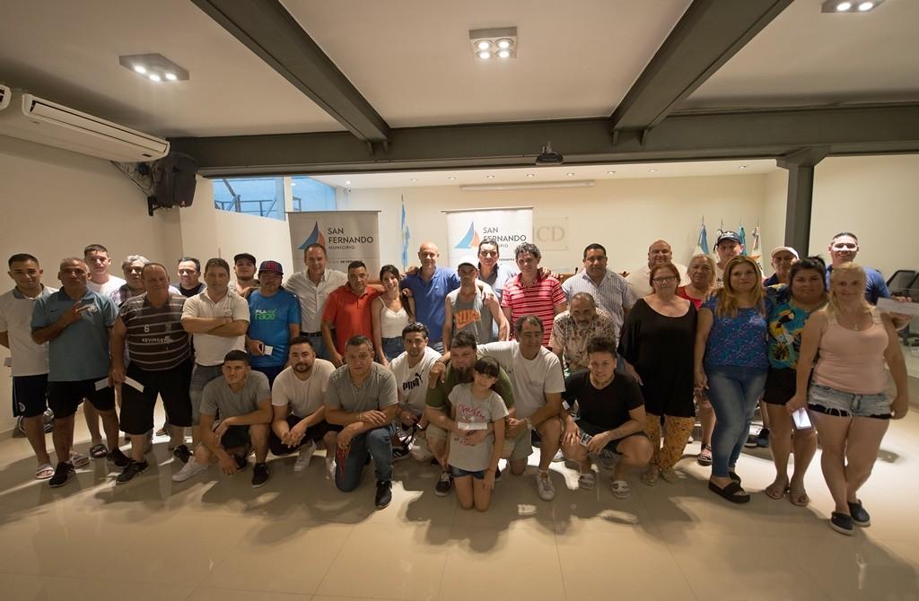 San Fernando entregó subsidios a los Centros de Murgas