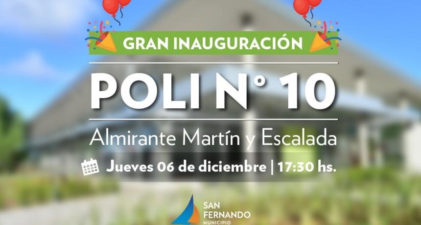 Gran inauguración del Polideportivo N° 10 de San Fernando