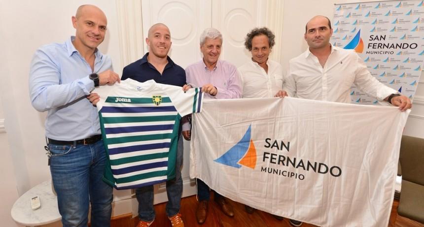 Andreotti felicitó a San Fernando Rugby por su ascenso a primera división