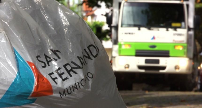 Los días 24 y 31 de diciembre no habrá servicio de recolección de residuos