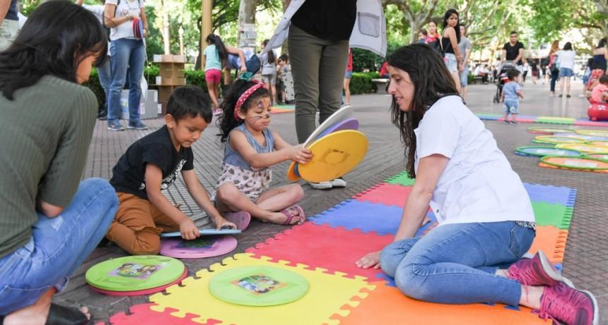 Se celebró en la Plaza Mitre de San Fernando el Día Universal de los Niños y Niñas