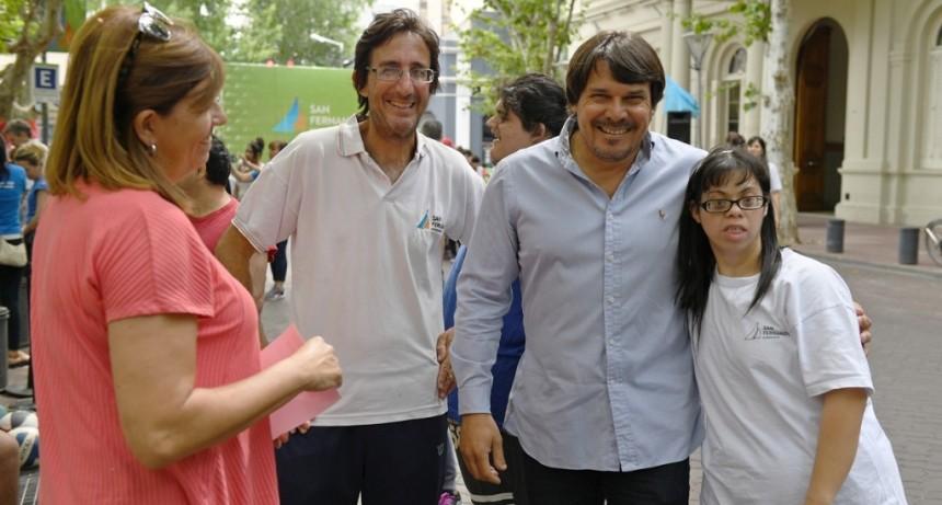 San Fernando celebró el Día de las Personas con Discapacidad con diversas actividades en la Plaza Mitre