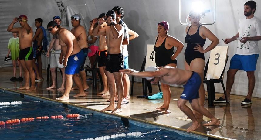 Gran Torneo de Natación en el Poli 1 de San Fernando