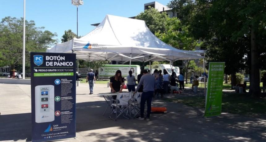 El 'Municipio en tu Barrio' sigue recorriendo los barrios de San Fernando