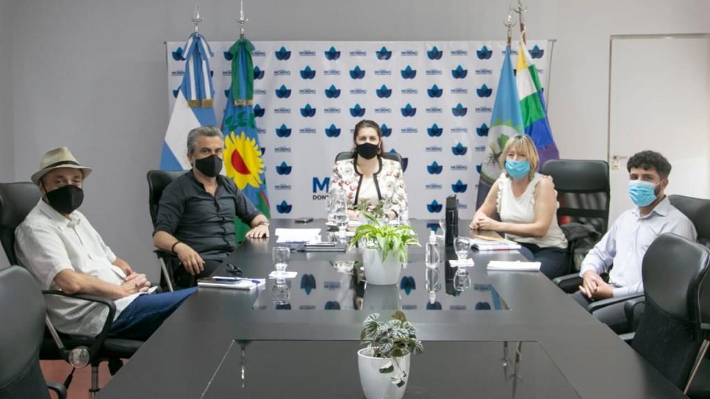 Revisión de trabajos del COMIREC en Moreno junto a la intendenta Mariel Fernández