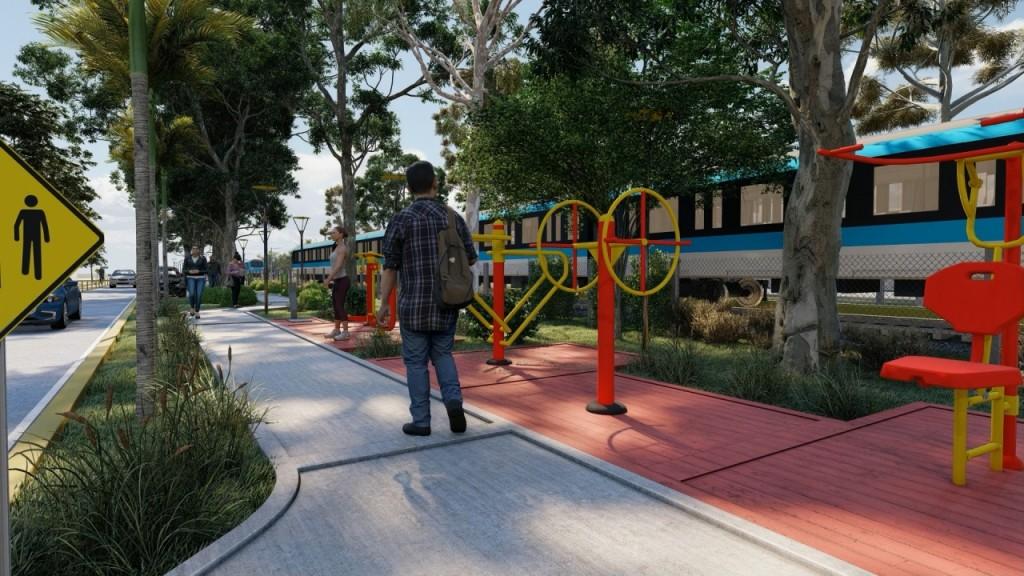 Juan Andreotti anunció un nuevo Paseo en la calle García Mansilla