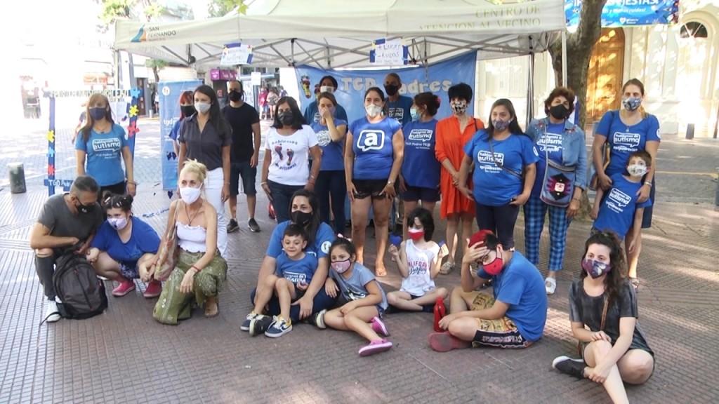 TGD Padres TEA y San Fernando concientizaron sobre el uso de pirotecnia durante las fiestas de fin de año